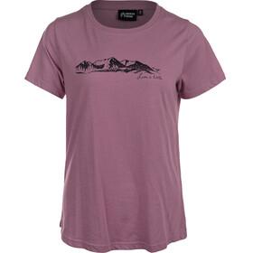 North Bend Radisson Kortærmet T-shirt Damer, violet
